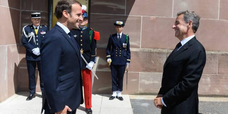 Nicolas Sarkozy meilleur qu'Emmanuel Macron face à la crise ? Les Français très partagés