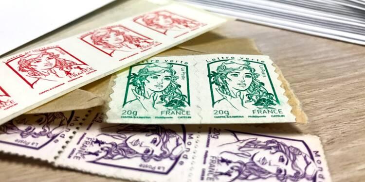 La Poste pourrait tirer un trait sur le timbre rouge
