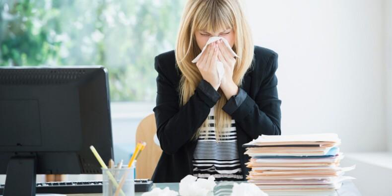 Ces salariés qui vont travailler... alors qu'ils sont malades