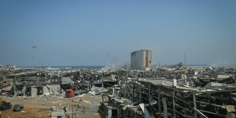 Beyrouth meurtri accueille Emmanuel Macron