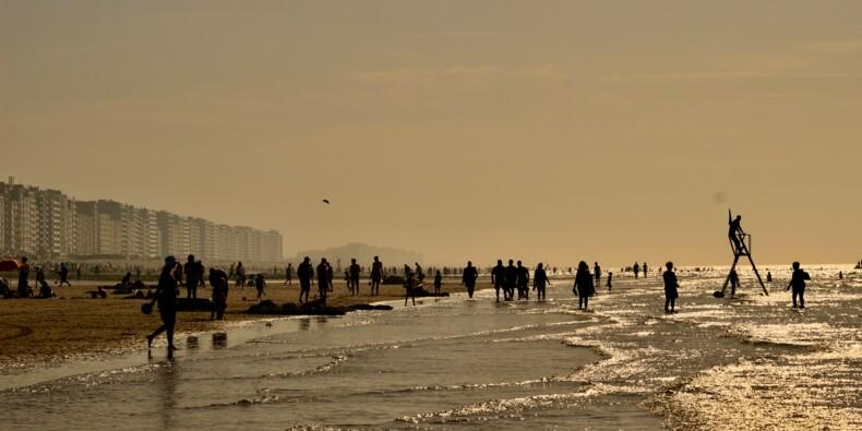 Bagarre générale sur une plage belge où la distanciation sociale n'était pas respectée