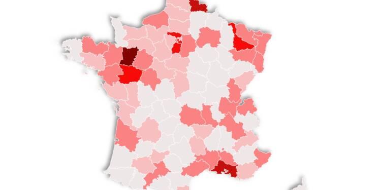 Epidemie La Carte De France Des 184 Clusters Capital Fr