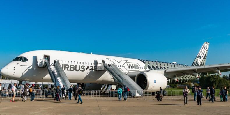Airbus : des moteurs d'A350 ont des signes d'usure, alerte Rolls Royce