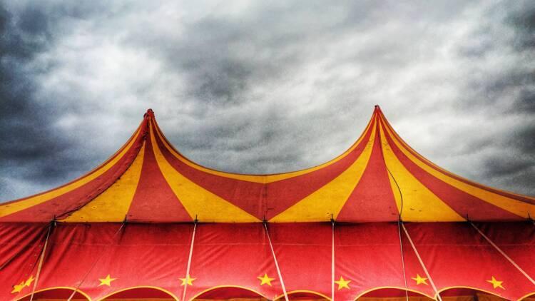 Bloqué par un pont hors-service, le cirque Zavatta obligé de partir en barge