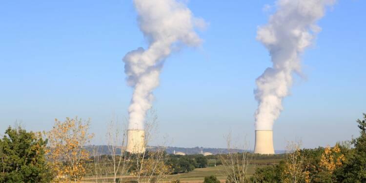 La centrale nucléaire de Golfech à l'arrêt à cause de la canicule