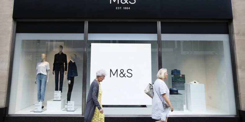 La chaîne de magasins Marks and Spencer annonce 7.000 suppressions d'emplois