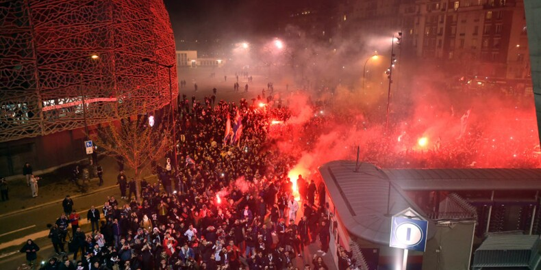 Paris : les rassemblements en marge du match du PSG interdits dimanche soir ?