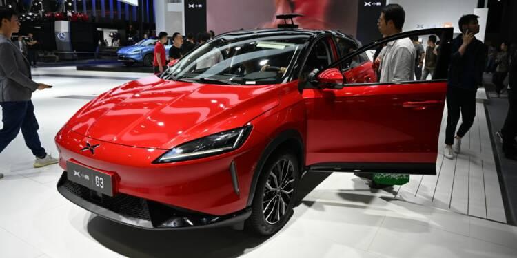 XPeng, le Tesla chinois, s'introduit en Bourse à Wall Street