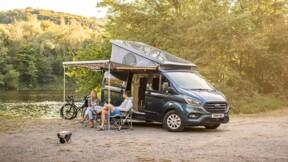 Van aménagé : le Ford Nugget Plus sera disponible avec un toit rétractable
