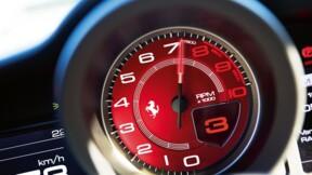 Un chauffard récidiviste a été interpellé pour avoir roulé jusqu'à 262km/h en Ferrari