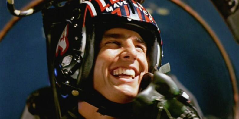 """Le casque de Tom Cruise dans """"Top Gun"""" vendu pour une fortune aux enchères"""