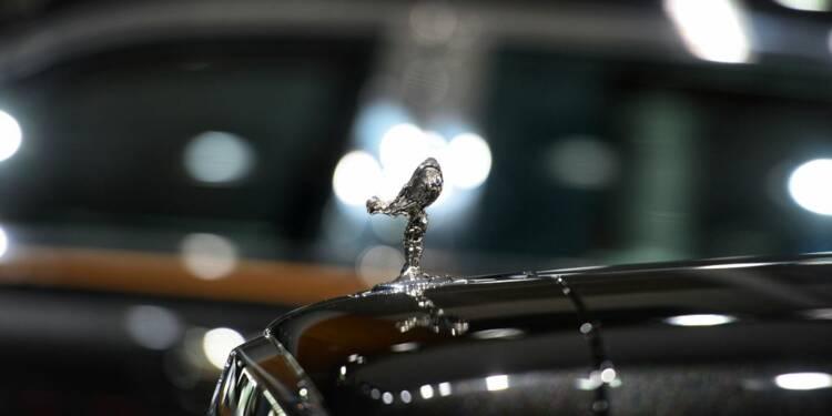 Une Rolls Royce transformée en break familial