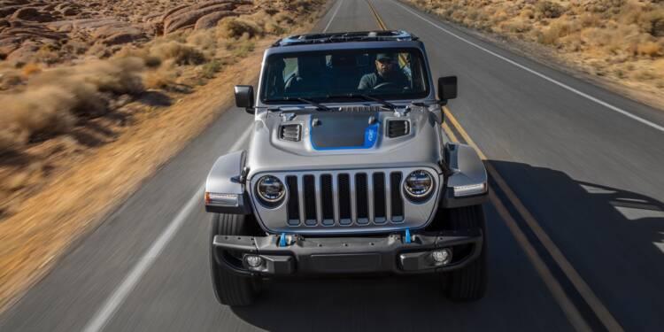 L'iconique Jeep Wrangler se convertit à l'hybride rechargeable