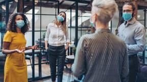 Masque, distanciation, pause déj… le protocole sanitaire est-il bien respecté dans votre entreprise ? Racontez-nous