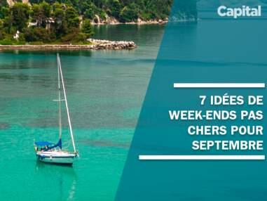 Vacances : 7 idées de week-ends pas chers pour septembre