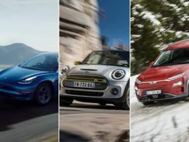 Les 10 voitures électriques les plus vendues en août
