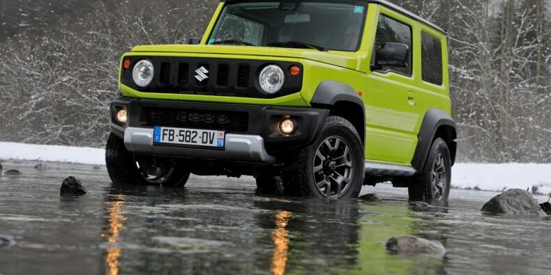 Le Suzuki Jimny revient en France sans malus écologique