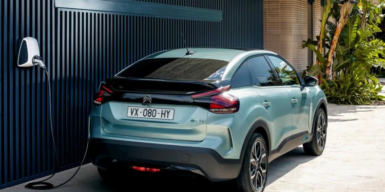 Les prix de la Citroën C4 électrique dévoilés