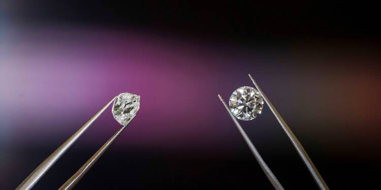 Un diamant blanc d'exception mis aux enchères à Hong Kong