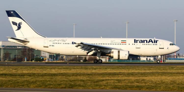 Une partie de la flotte d'Iran Air va être vendue aux enchères