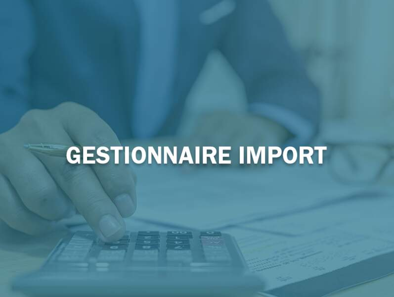 Gestionnaire import