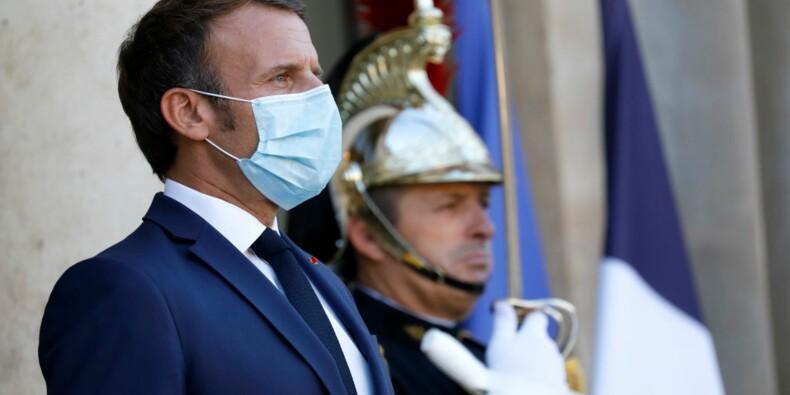 """5G : """"Je ne crois pas au modèle amish"""", le tacle d'Emmanuel Macron aux écologistes"""