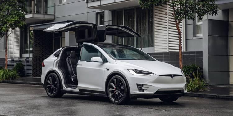Tesla : rappel de Model X, risques de détachements sur les toits !