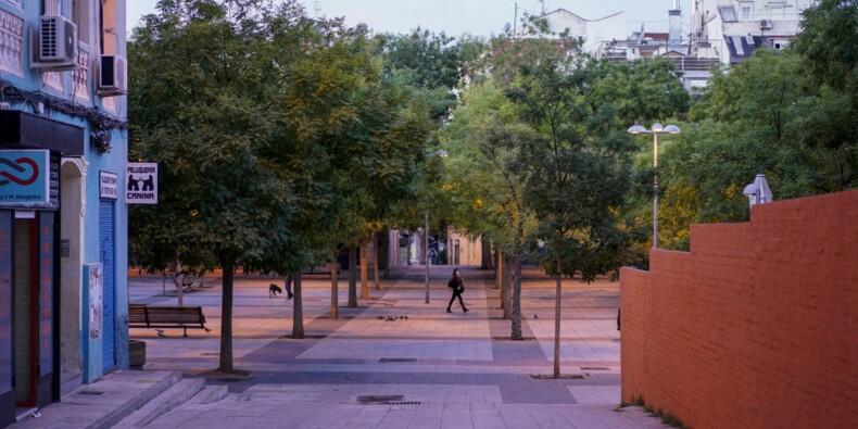 Une partie de Madrid se reconfine