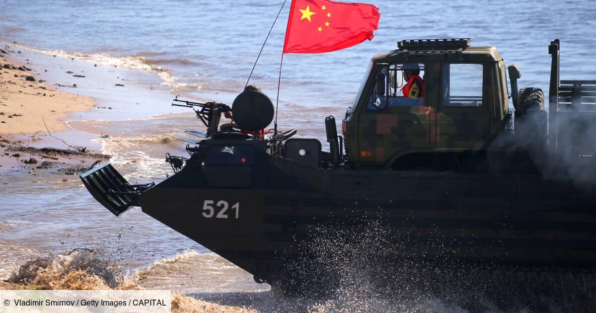 La Chine déploie des navires de guerre sur un territoire revendiqué par l'Inde