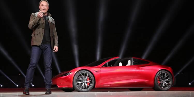 """""""L'explosion des actions Tesla, cas d'école du miracle de la Bourse"""""""