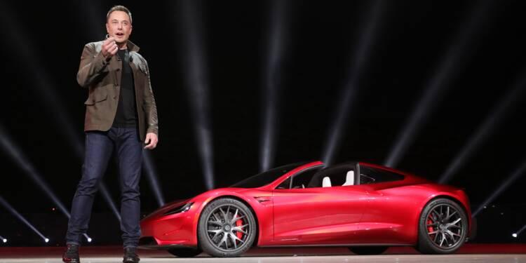 """Tesla : Elon Musk intronisé """"roi de la tech"""""""