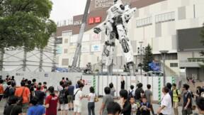 Le Japon teste un robot géant de plus de 18 mètres