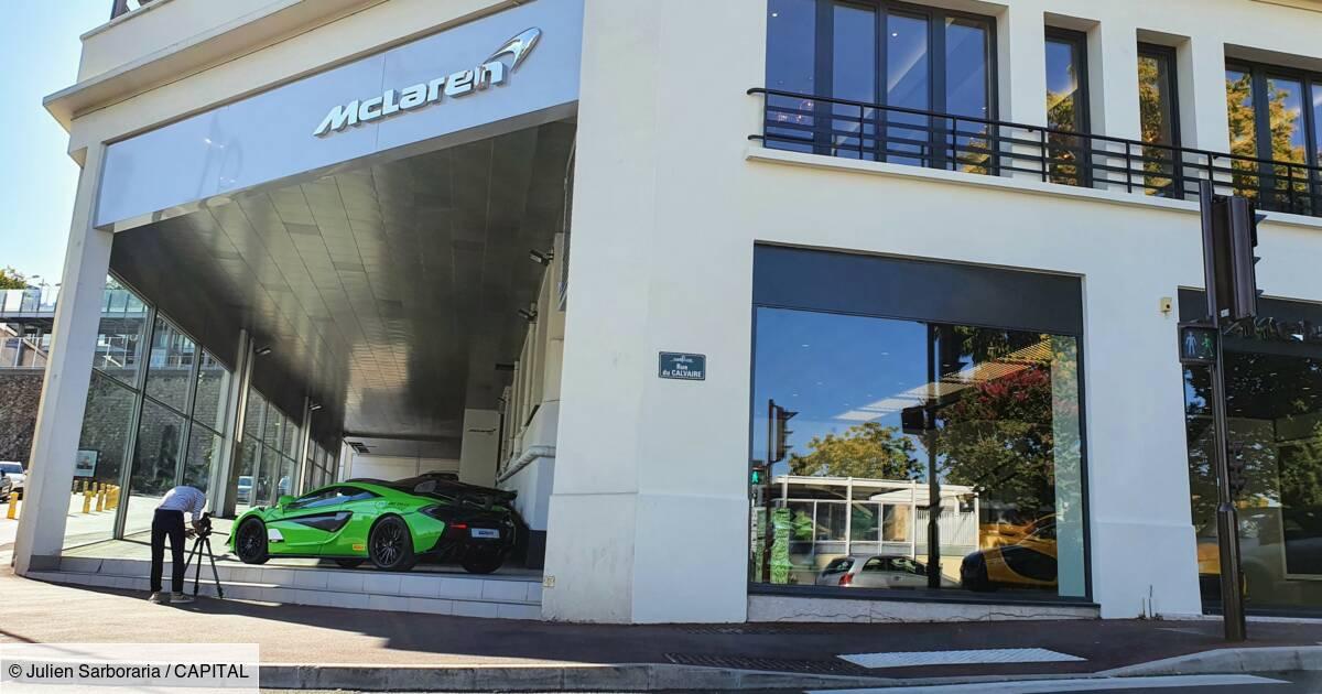 Nous avons visité la Maison McLaren, le seul showroom de la marque en France