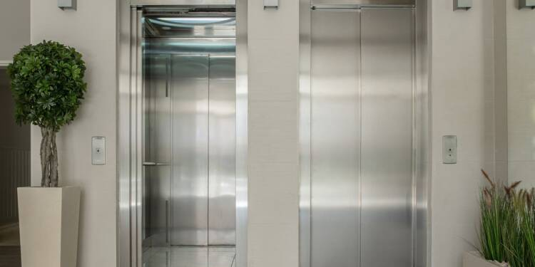 Elle reste bloquée dans l'ascenseur à cause de la journée sans voiture
