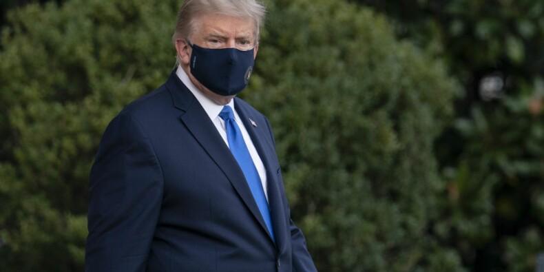 L'état de santé de Donald Trump s'est amélioré, selon ses médecins