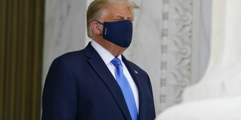 A l'hôpital, la luxueuse suite présidentielle de Donald Trump