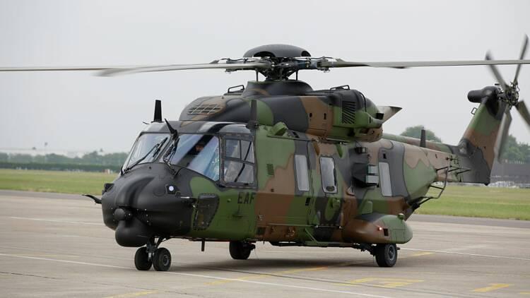 Intempéries dans les Alpes-Maritimes : un hélicoptère de l'armée perd toute sa cargaison en mer