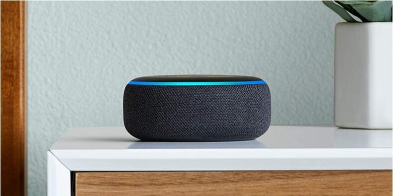 Amazon : l'enceinte connectée Echo Dot disponible à moitié prix