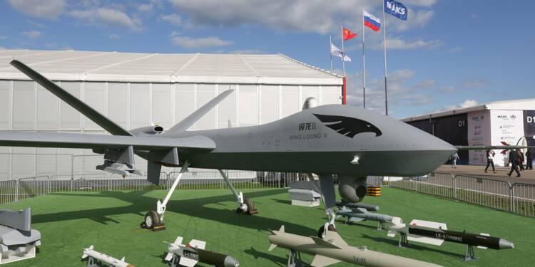 La Chine perfectionne son premier drone militaire autonome