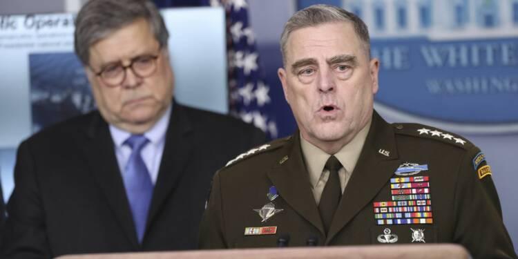 Coronavirus : après la Maison-Blanche, l'armée américaine lourdement touchée à son tour