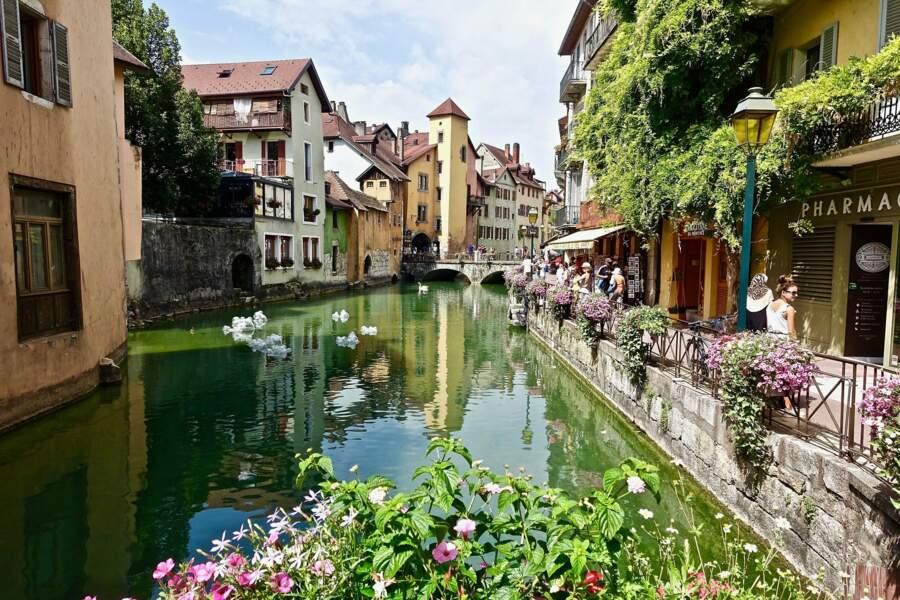 Un arrêt fraîcheur à Annecy