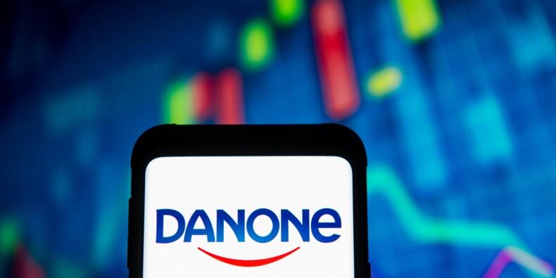 Danone inquiète sur ses perspectives et plonge en Bourse