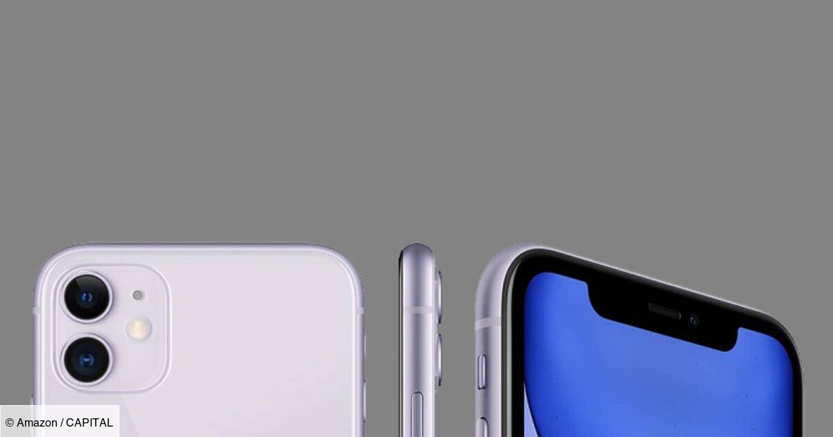 iPhone 11 : le smartphone Apple disponible dès 689 euros sur Amazon
