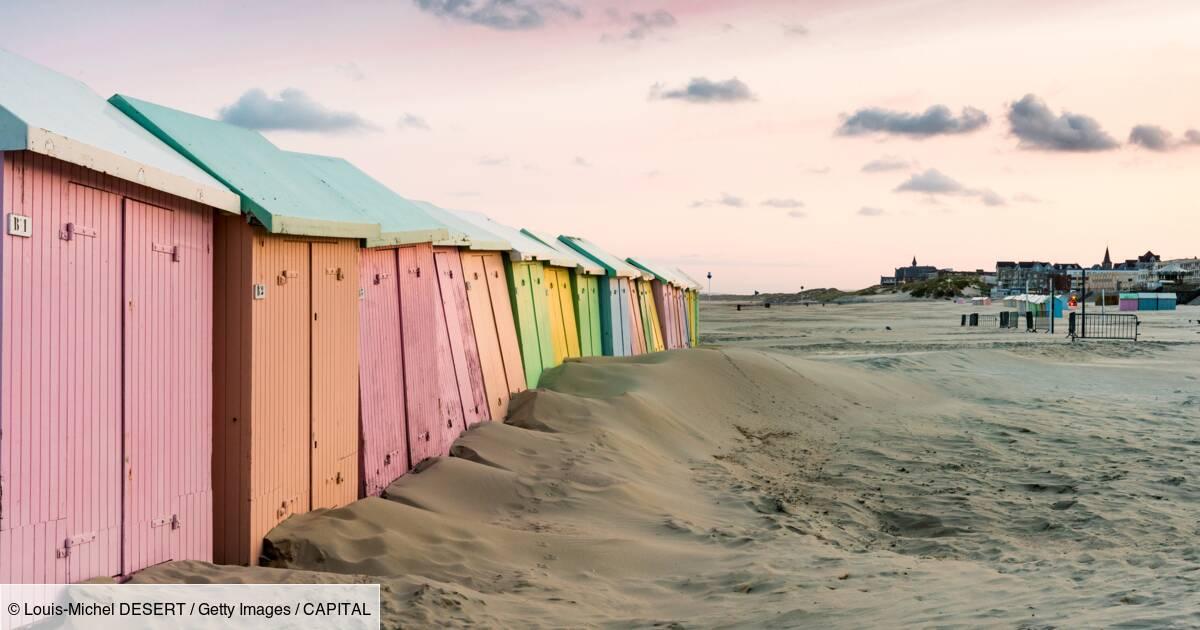 Offrez-vous les cabines de la plage de Berck