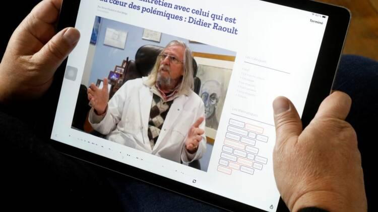 Il utilisait l'image de Didier Raoult pour vendre du cannabis