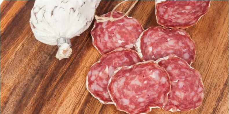 Auchan rappelle du saucisson et de la rosette et Cora du beurre