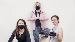 Ses masques de protection plaisent aux sportifs et aux enfants