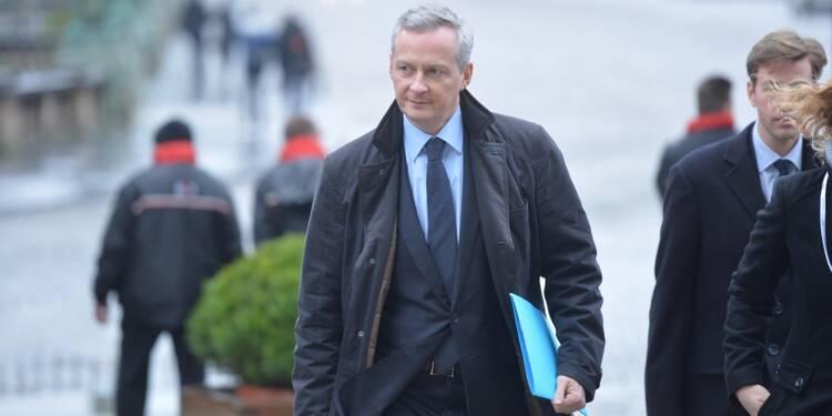 Récession : le PIB va plonger de 11%, prévient Bruno Le Maire