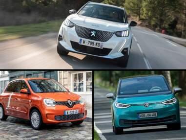Les 10 voitures électriques les plus vendues en octobre