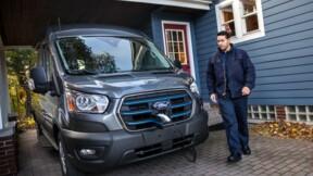 Ford dévoile le E-Transit, son premier utilitaire électrique
